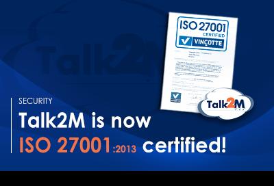 Talk2M - ISO 27001