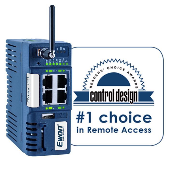 eWON Cosy - Industrial VPN Routers for Easy and Secure Remote Access