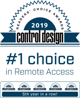 Control Design Award 2019 in Industrial Remote Access