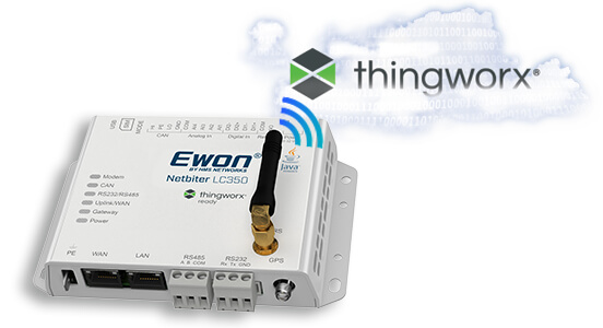 Netbiter LC350 thingworx cellular