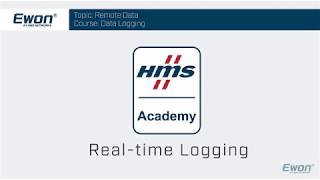 1 - Real-time Logging - Configuration