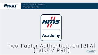 2 - Talk2M Pro Security - Two Factor Authentication