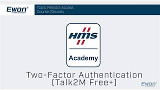 4 - Talk2M Free+ Security - Two Factor Authentication
