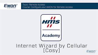 5 - Cosy 131 - Internet Wizard for cellular connection