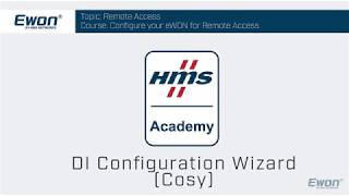 9 - Cosy 131 - DI Configuration Wizard