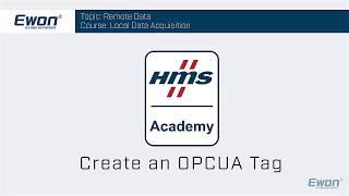 Thumbnail - Create OPC UA tag