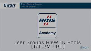 Thumbnail - Security Talk2M Pro - User Groups and Ewon Pools