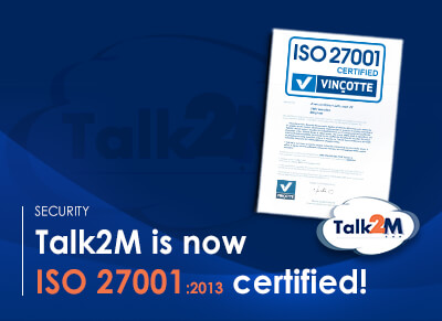 Preview Talk2M - ISO 27001